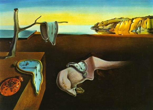 The Persistence of Memory, 1931 by Salvador Dali