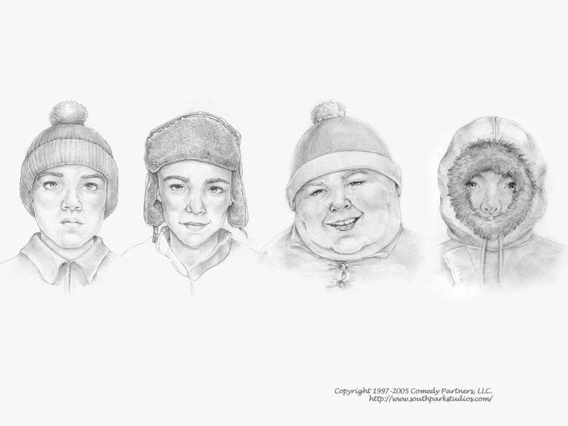 South Park Composite Sketch