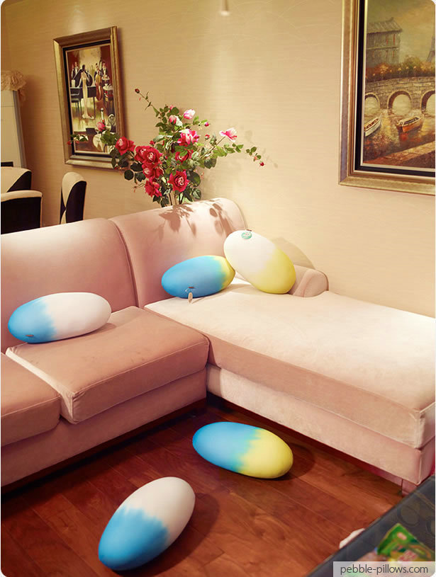 Creative Foam Egg Pillows Home