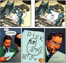 Batman's Message