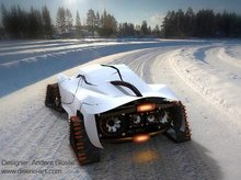 THiNK FROST Snowmobile Concept