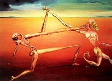 Rock 'n Roll, 1957 by Salvador Dali